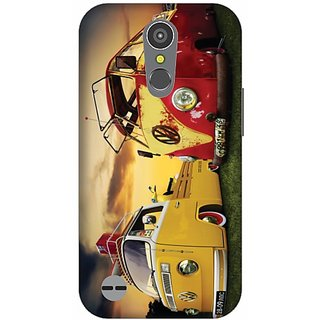 Printland Back Cover For LG K10 2017
