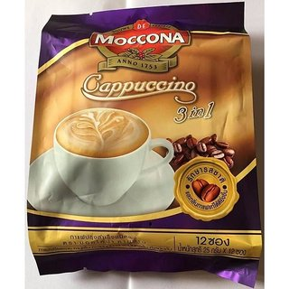 Moccona Cappuccino 3in1 Coffee Mix Powder - 300g (12x25g)