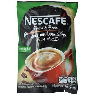 Nescafe Blend & Brew Espresso Roast 3in1 Coffee Mix Powder - 157.5g (9x17.5g)