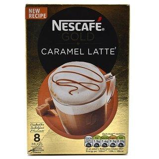Nescafe Gold Caramel Latte, 8 Mugs - 136g (8x17g)