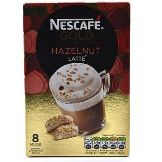 Nescafe Gold Hazelnut Latte, 8 Mugs - 156g (8x19.5g)