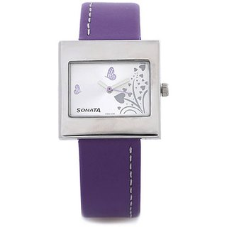 Sonata Analog Watch For Women-8965SL02
