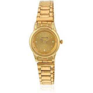 Sonata Analog Watch For Women-8925YM02