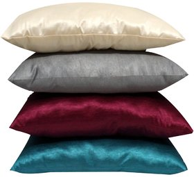 Rainbow Bazzarr Multi-color Fiber Pillows