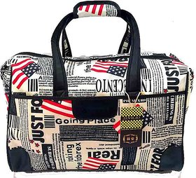 Must Visit Polyester Luggage 2 Wheels Travel Duffle Bag for Travelling