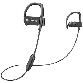 09722fe1827 Callmate QC-10s Jogger Sports Bluetooth Headset V4.1 with Mic - Black