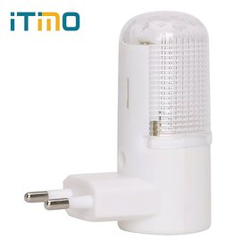 Set Of 2 iTMO New 3W 4 LEDs Bedroom Night Lamp, Energy-Efficient Bedside Lamp Emergency LED Night Light Imported From USA
