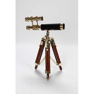telescope showpiece with tripod