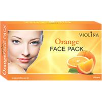 VIOLINAOrange Face Pack With Natural & Anti Wrinkle Skin - 100gms