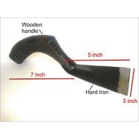 Heavy Duty Iron Made GARDEN HAND TOOL Khurpa Size 1