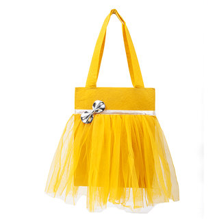 Lill Pumpkins Yellow Tutu Bag