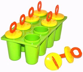 Styls Ice Candy Kulfi maker Popsicle Mould set of 8