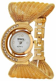 Branded NUBELA Women Watches Glory Gorgeous Golden Stra