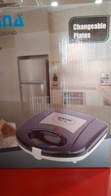 nora-mpc Sandwitch Maker with changeble plate