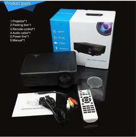 100 Original RD805 LED Projector Up To 800 Lumens HDMI