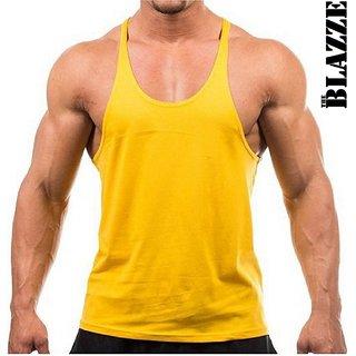 The Blazze Gym Tank Stringer Gym Vest for men