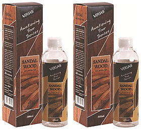 Car Freshner Sandal Liquid Versasi 2pc (400ml)