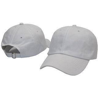 Buy Fast Fox White Caps for Men s and Women s - Casual Cap set of 2 Online    ₹299 from ShopClues b39a84a6d