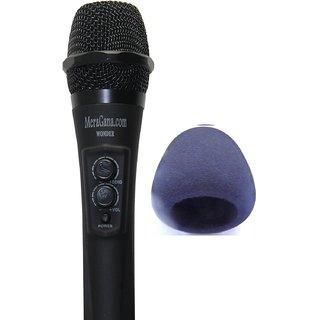 MeraGana Wonder Digital Karaoke (Sing along) Mixer Microphone with inbuilt Digital mixer
