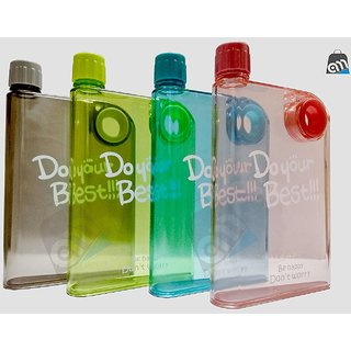 S4D  Notebook Portable Cup Ultra Slim Water Bottle, 380 Ml