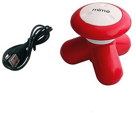 Health Care System Mimo Mini Portable Compact Full Body Massager With Usb Port