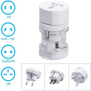 Finbar International Travel Adapter All In One (US,AUS,NZ,Europe,UK) (SP)