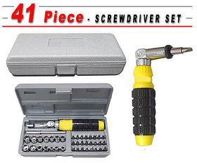 BANQLYN 41 PCS Portable Tool Kit Home PC Car Screwdriver Set kit - Multicolour