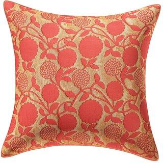 Erica   Designer Multicoloured Decorative Cushion Cover / Throw Pillow 40 x40 cm, Set of 1