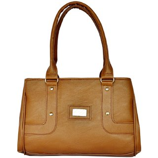 ALL DAY 365 Brown Plain Handbags