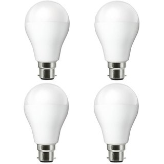 Nipser LED Bulb Premium 9 Watt 900 Lumens  ( Set of 4)