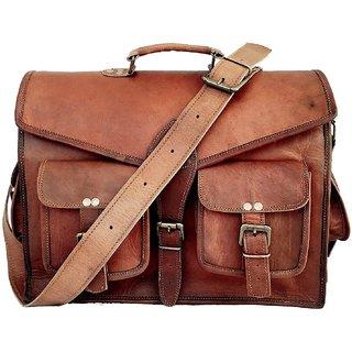 062d7ce758f8 Satya Genuine leather messenger bags for men women men briefcase laptop bag  best computer shoulder satchel