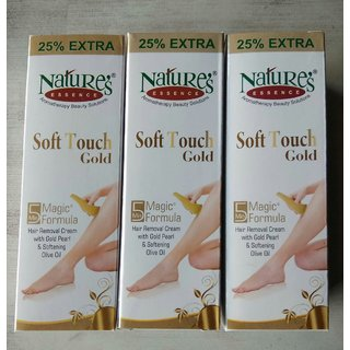 5pc Natures Hair Removal Cream