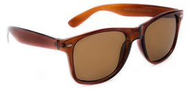 TheWhoop UV Protected Brown Premium Wayfarer Unisex Sunglasses  Stylish Wayfarers Goggles For Men Women Girls Boys