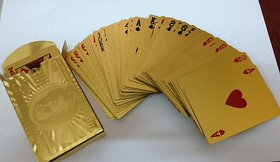 Right Traders Golden Playing Card