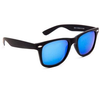 TheWhoop Mirror Blue Wayfarer Unisex Sunglasses For Mens , Women , Girls , Boys