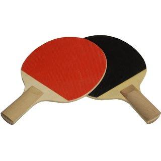 Buy Super Table Tennis Racket Set 2 Bats Online - Get 73% Off