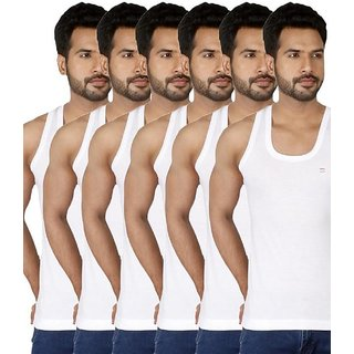 PACK OF(6) RICH LOOK COTTON VEST FOR MEN (PACK OF 6) ONE SET //HALF DOZEN RICH PEOPLE CHOICE