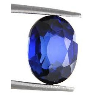 9.00 Ratti Natural Blue Sapphire Neelam/Nilam Lab Certified Stone Jaipur Gemstone