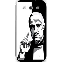 Snoogg Godfather Black And White Case Cover For Samsung Galaxy S3