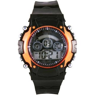 digital Kids Watch with seven color light display