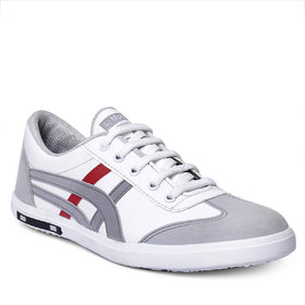 Brooke Men's Grey/Red Adid Stylish Casual Shoes