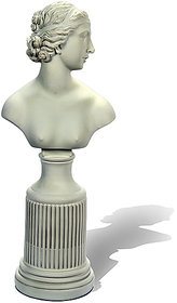 white lady statue