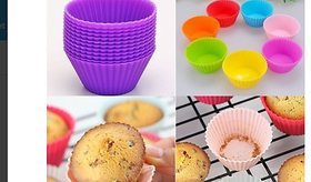 Right Traders Set Of 6 Silicone Cake Cup Molds