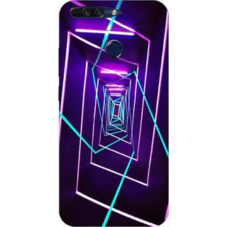 Printgasm Huawei Honor 8 Pro printed back hard cover/case,  Matte finish, premium 3D printed, designer case