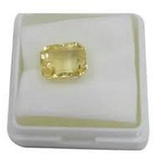 Ceylon Pukhraj Yellow Sapphire 9.00 Ratti Certified Stone Jaipur Gemstone