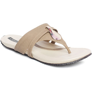 Vendoz Women Casual Beige Sandals