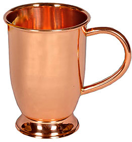 Comet Pure Copper Mug With Base