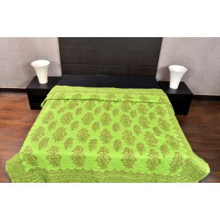 shoppingtara Banana Prints Jaipuri AC Quilt Majestic