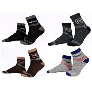 8db7ee8a4daa3 Buy Angel HOME Pack of 4 Ankle Sports Socks Online - Get 73% Off