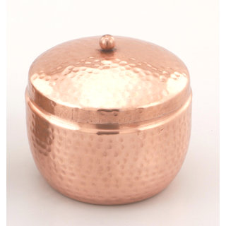 Comet Metal  Multipurpose Storage Container 450 ml  with Copper Finishing